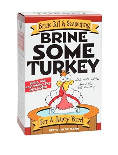Brine Some Turkey - All-Natural Brine Kit and Seasoning