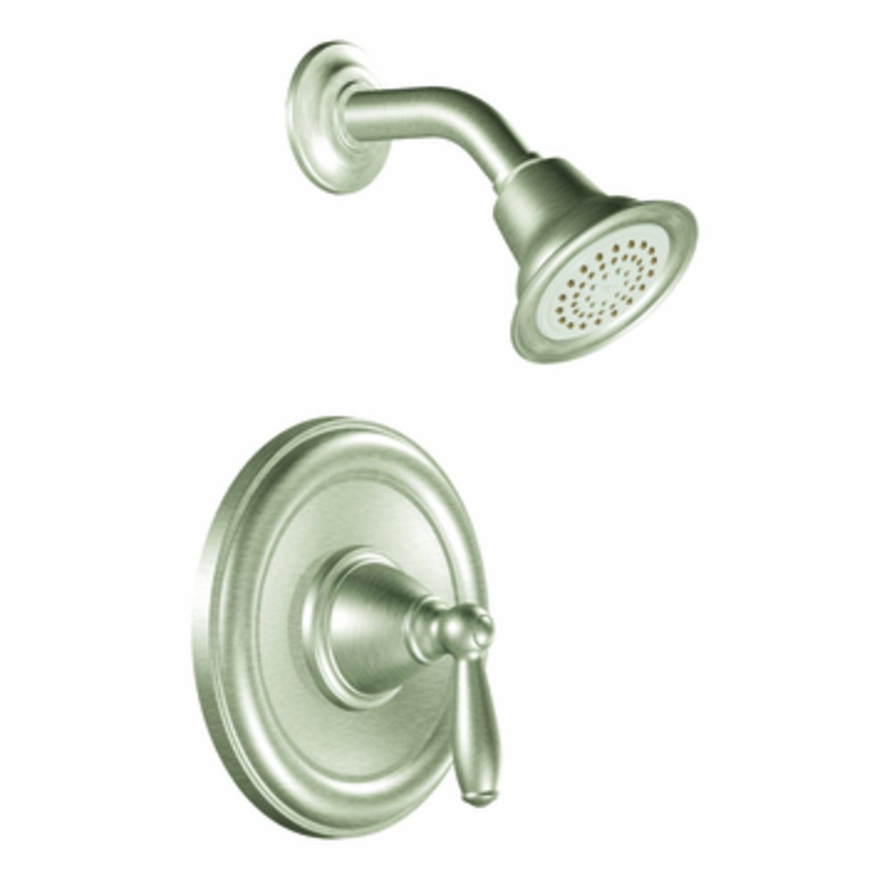 Moen T2152EPBN Brantford PosiTemp Shower Trim Kit without Valve, Brushed Nickel