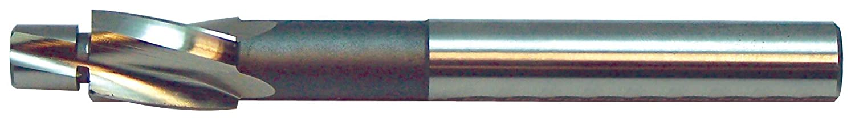 Fine Size Bright Finish M6 Uncoated KEO 56213 Cobalt Steel Precision 3 Flutes Cap Screw Counterbore Integral Pilot