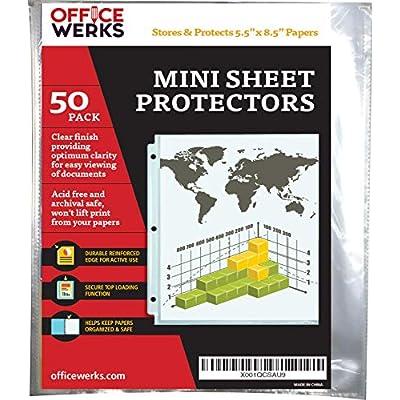 heavyweight-clear-mini-sheet-protectors