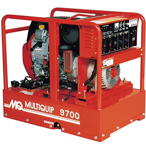 Multiquip GA97HEA handheld Generator along with Honda Motor, 16.6 HP, 120/240 VOLT, 9700 WATT expenditure Cheap Prices