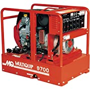 Multiquip GA97HEA Portable Generator with Honda Motor, 16.6 HP, 120/240 VOLT, 9700 WATT Output