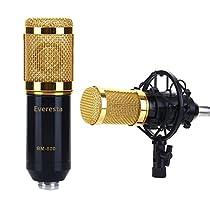 Everesta BM-800 Micrófono de grabación de sonido con condensador