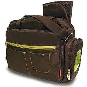Amazon Com Fisher Price Carryall Diaper Bag Brown