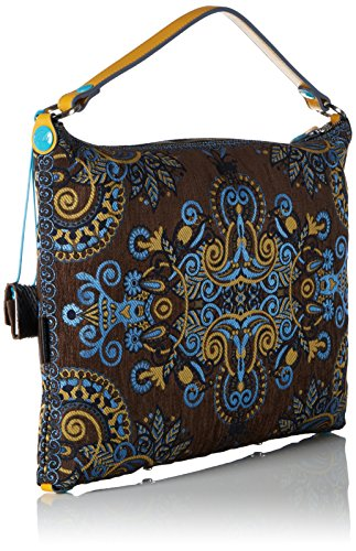 Bag Women's Taupe body Cross Gabs giallo toni Brown amp; Maggy Studio zqwPwY