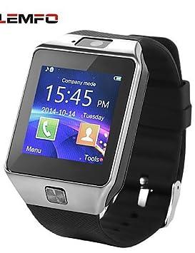 lemfo dz09 MTK mtk6260a 1,54 pulgadas bluetooth de la ayuda reloj inteligente tarjeta SIM