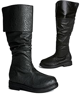 Gothic Western Steampunk Assassin's Creed Medieval Cosplay Halloween Men's Boots S
