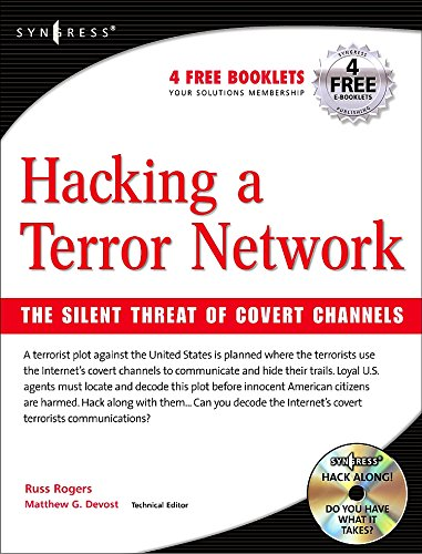 Read Online Hacking a Terror Network: The Silent Threat of Covert Channels pdf