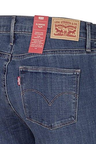 0003 Jeans Bay Slim Slimming Blu Stretti Levi's Cavern wvORqaIRx