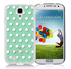 Galaxy S4 I9500 Phone Case Kate Spade New York Hardshell Case for Samsung Galaxy S4 i9500 Cover 35 White