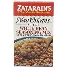 Zatarain's White Bean Seasoning Mix, 2.4 oz (Case of 12)