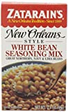 Zatarain's New Orleans Style White Bean Seasoning Mix, 2.4-Ounce Boxes (Pack of 12)