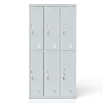 Locker Locker Locker Metal Cabinet Metal Locker Cabinet 6 Drawers:  Amazon.co.uk: Kitchen U0026 Home
