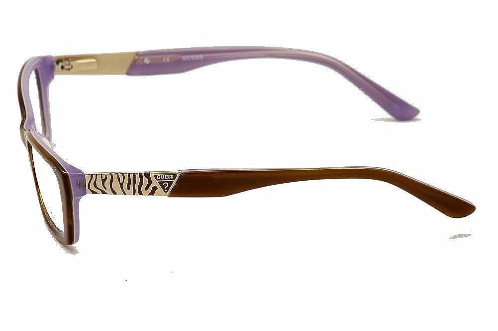GUESS Eyeglasses GU 2352 Amber Crystal 52MM