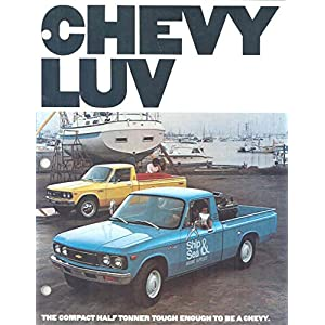 1977 Chevrolet LUV Pickup Truck Brochure Rev 1/77