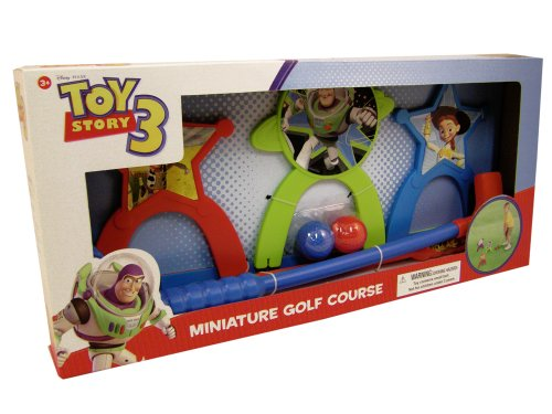 ry 3 Miniature Golf Course Set Indoor / Outdoor Putt Putt (Miniature Golf Course)