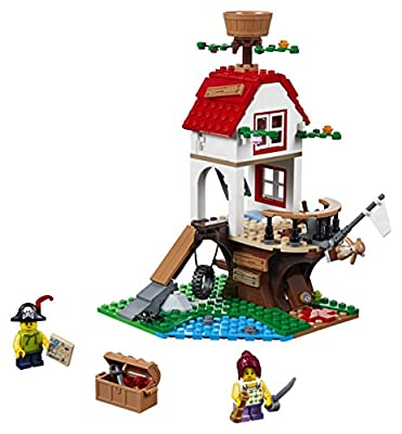 LEGO Creator Tree House Treasures with Pirate Ship