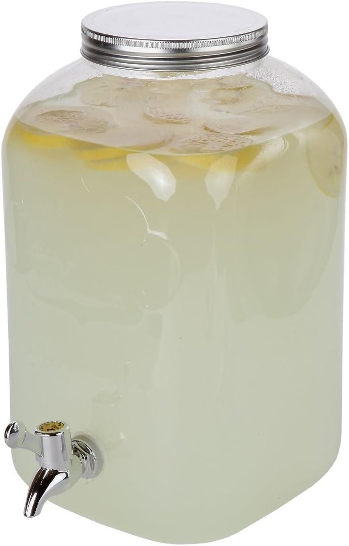 Lily's Home Plastic Beverage Dispenser - 2 Gallon