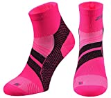 ZaTech Plantar Fasciitis Sock, Compression Socks for Men & Women. Heel, Ankle & Arch Support. Increase Blood Circulation, Reduce Swelling, Foot Pain Relief. (Pink/Black, Medium)