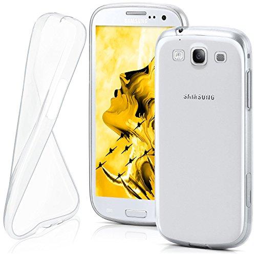OneFlow PREMIUM - AERO-CASE aus transparentem Silikon (Ultra Slim) - für Samsung Galaxy S3 / S3 Neo (GT-i9300 / GT-i9301) - FARBLOS