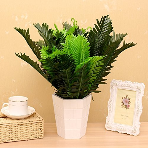 - One 24-rayon plants, iron palm tree garden home decor 15