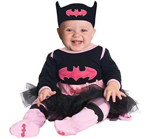 [Batgirl Onesie Costume - Infant] (Batman Costumes Infant)