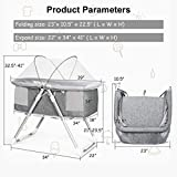 INFANS 2 in 1 Rocking Bassinet for Newborn