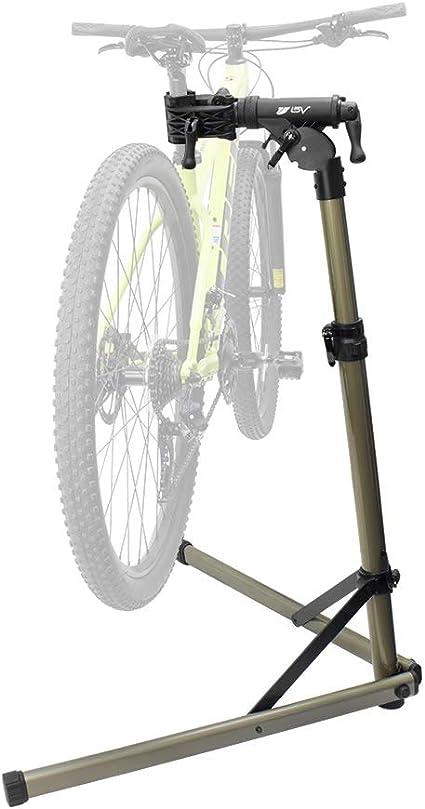 BV Soporte de reparación de bicicleta – Soporte de trabajo de mecánica portátil para bicicleta de montaña y mantenimiento de bicicletas de carretera: Amazon.es: Deportes y aire libre
