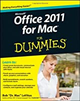 Office 2011 for Mac For Dummies Front Cover