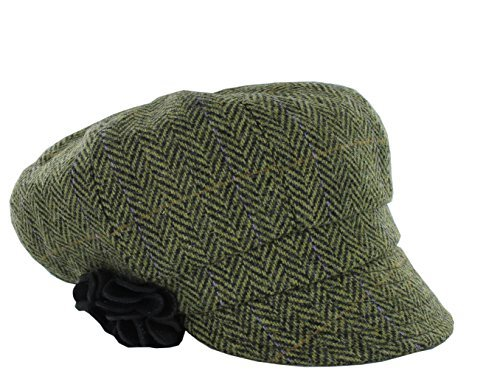 Mucros Weavers Women's Irish Made Newsboy Cap (Color 51) by Mucros Weavers