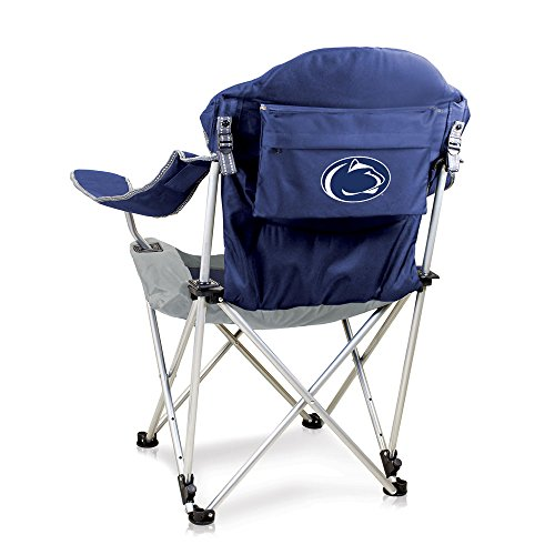 NCAA Penn State Nittany Lions Reclining Camp Chair, Navy