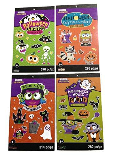 Creatology Halloween Stickers Sticker Books (Bundle of -