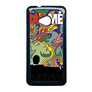 Design With Mad Men For Htc M7 Durable Back Phone Case For Child Choose Design 4