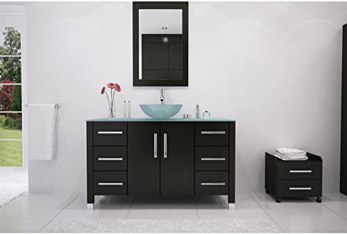 JWH Living Grand Crater Single Bathroom Vanity