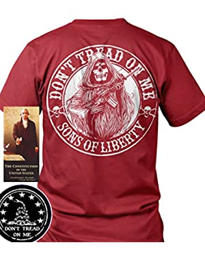 Sons of Libery Don't Tread on Me Reaper AR-15. T-Shirt. Made in USA