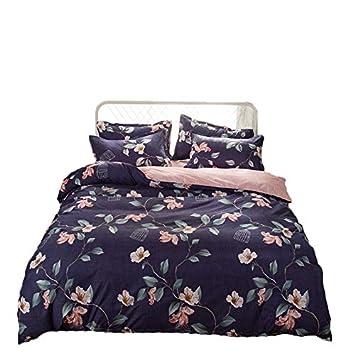 Kfz Bettwäsche Set Doppelbett King Size Größe 4 Stück Bettbezug