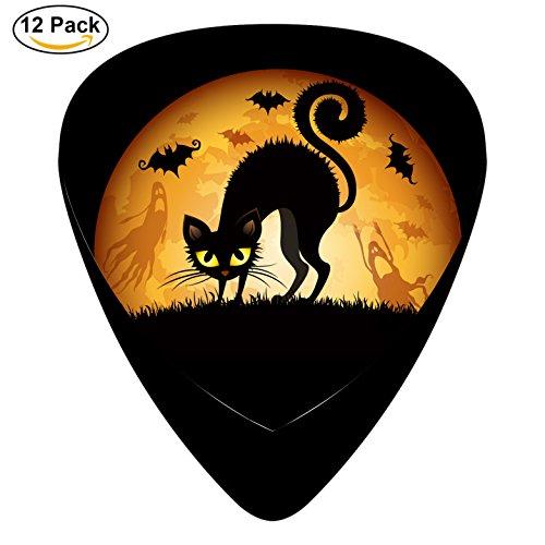 KJH Cats bats wide Guitar Picks Celluloid