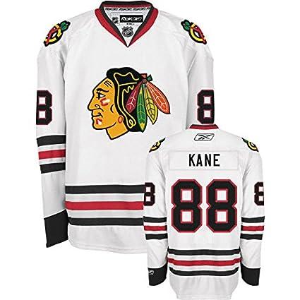 wholesale dealer b8ddd aff20 Youth Kids Chicago Blackhawks Patrick Kane 88 White Stitched Authentic NHL  Jersey Reebok (Large/X-Large)