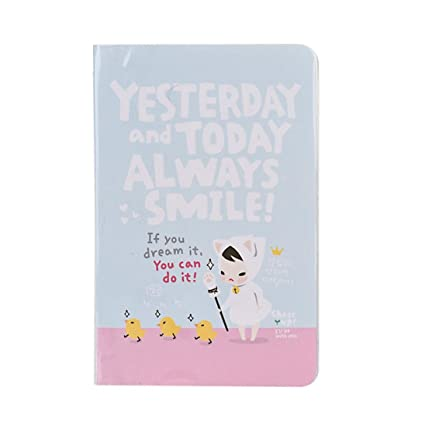Voberry Cute Diary Notebook Red