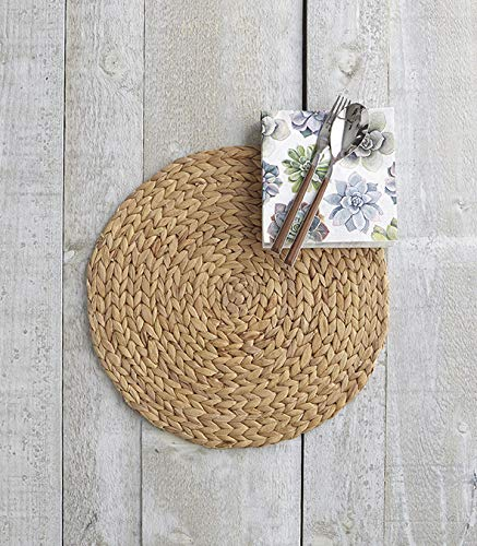 Harman Naturals Woven Palma Round Placemat Earthy & Sophisticated 15