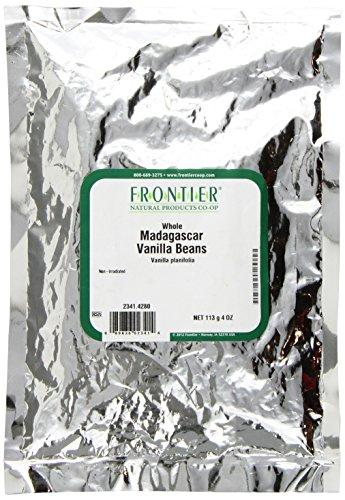 Frontier Vanilla Bean - Frontier Madagascar Vanilla Beans, 4 Ounce