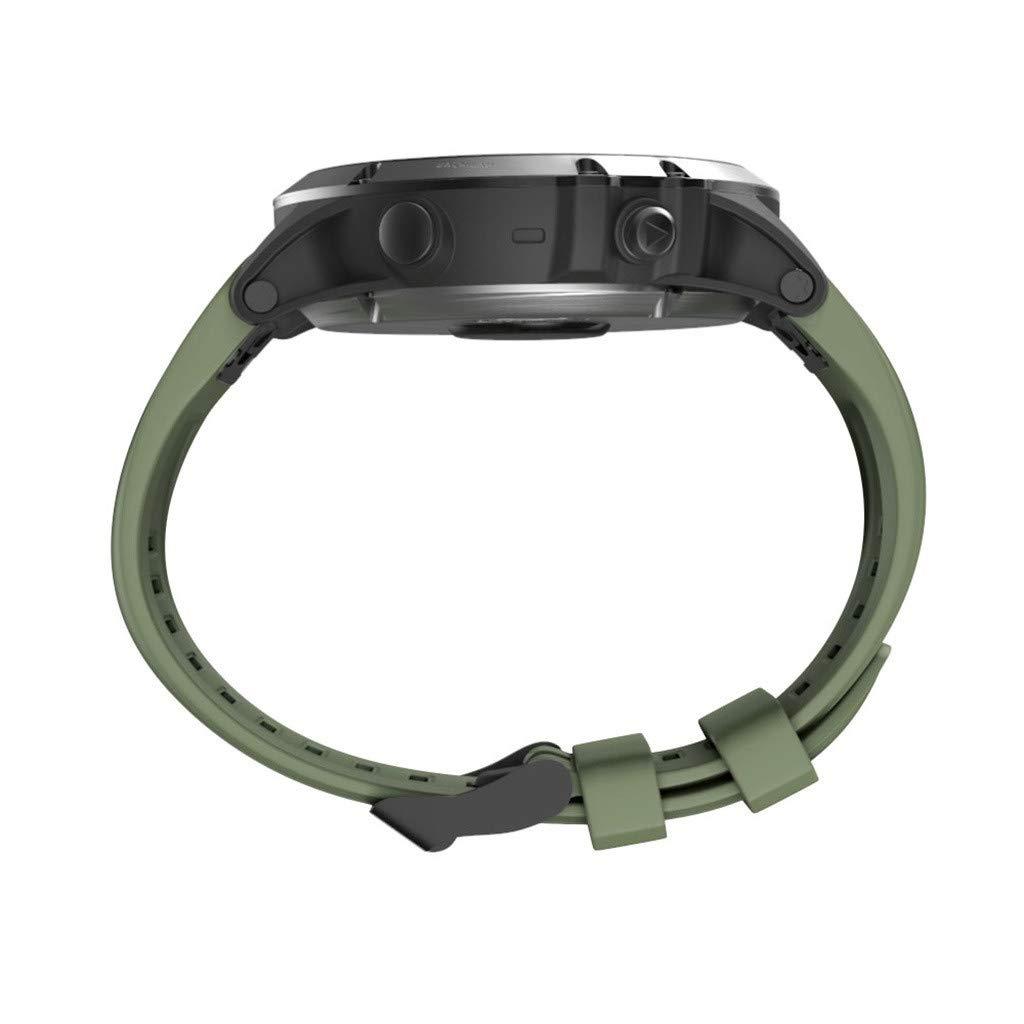 zolimx correas Correa Garmin Fenix 5X Plus Piel Silicona 26 mm Compatible con Garmin Fenix 5X Plus Pulsera Ajustable de Repuesto