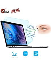 """FORITO 2PCS Compatible with MacBook Pro 13"""" Screen Protector Blue Light Filter, Blue Light Blocking Anti Glare Screen Protector for MacBook Pro 13 Model A1706 A1708 A1989 A2159 A2289 A2251 A2338"""