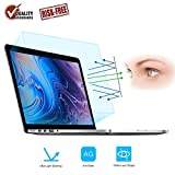 Screen Protector -Blue Light Filter Compatible MacBook Pro 13, FORITO Eye Protection Blue Light Blocking & Anti Glare Screen Protector for 2016 2017 2018 Apple MacBook Pro 13 Inch A1706 A1708 A1989