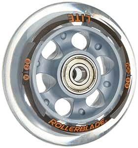Rollerblade rb 80mm/82a + sg7 ball bearing + spacer ruedas conjunto blanco