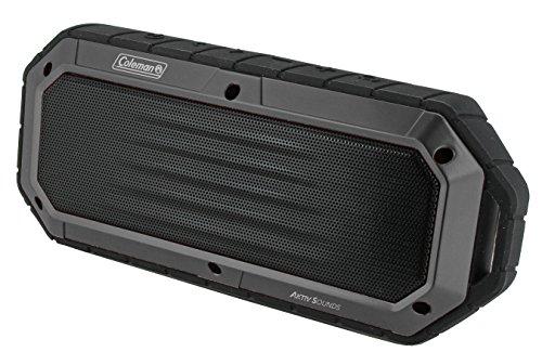 Coleman Aktiv Sounds Waterproof Bluetooth Slim-Line Speaker (CBT16-GY) (Coleman Slimline compare prices)