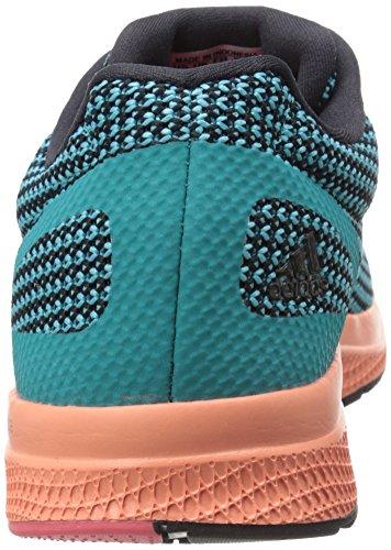 Adidas Performance Mana de la despedida del zapato corriente, negro / shock verde / amarillo resplan Black/Shock Green/Sun Glow Yellow