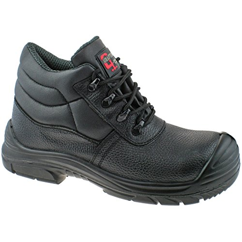WATERPROOF CHUKKA EU WIDE LEATHER SUPER M9548AZ 48 SAFETY KD EEEE 13 UK BOOTS GRAFTERS qftSAYn