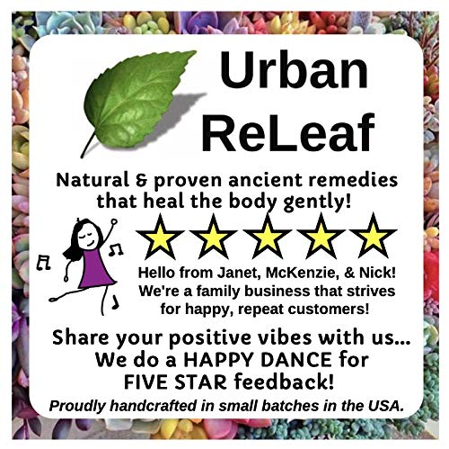 Urban ReLeaf TATTOO SKIN SILK! Heal new ink fast! Brighten old tats! 100% Natural Shea Butter Salve Goo Ointment, Cream Lotion Protect! Vegan. Healing Botanicals!