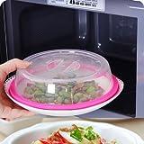 Pevor PlateTopper (Pink) Universal Leftover Lid Microwave Cover Airtight